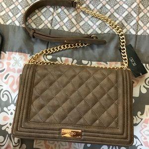 BCBG shoulder clutch bag